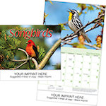 Natures Songbirds Wall Calendars